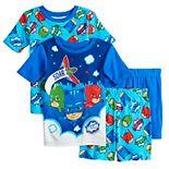 Disney's PJ Masks Boys 4-8 Go Team Tops & Shorts Pajama Set