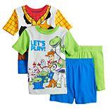 Disney / Pixar's Toy Story 4 Boys 4-10 Play Time Tops & Shorts Pajama Set