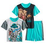Boys 4-10 Jurassic World Dinosaur Tops & Bottoms Pajama Set