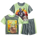 Boys 6-12 The Mandalorian Big Bounty Tees & Shorts Pajama Set