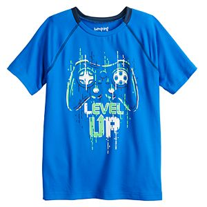 Boys 4-12 Jumping Beans® Pieced Active Tee in Regular, Slim & Husky