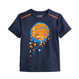 Boys 4-12 Jumping Beans® Pieced Shoulder Active Tee in Regular, Slim & Husky