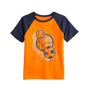 Boys 4-12 Jumping Beans® Raglan Active Tee in Regular, Slim & Husky