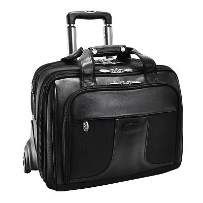 McKlein Chicago Wheeled Laptop Overnight Bag