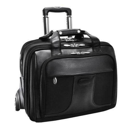 McKlein Luggage, Chicago Wheeled Laptop Overnight Bag