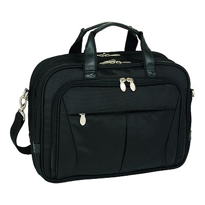 McKlein Pearson Expandable Laptop Briefcase