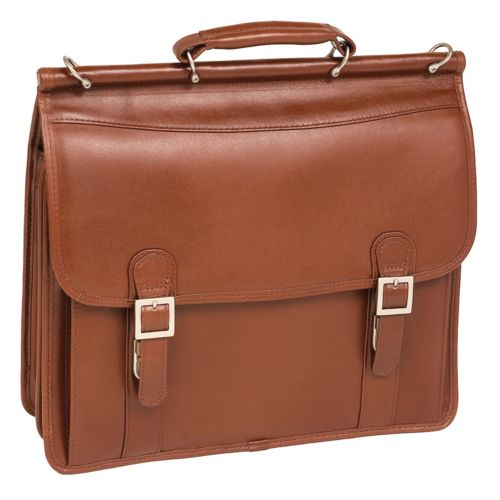 McKlein Halsted Leather Laptop Case