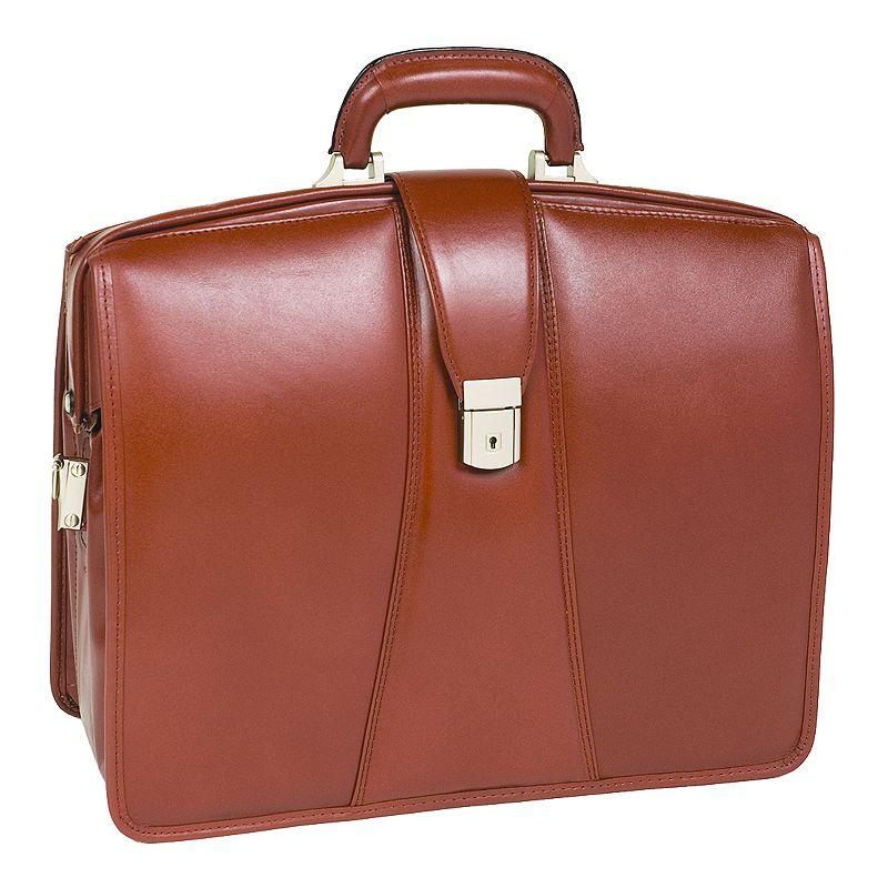 McKlein Harrison Leather Laptop Briefcase