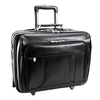 McKlein LaSalle Wheeled Laptop Overnight Bag