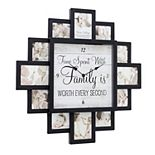 American Art Décor Quote Collage & Wall Clock