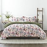 Made Supply Co. Floral Reversible Comforter Set with Shams