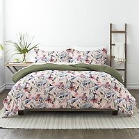 Made Supply Co. Floral Reversible Comforter Set with Shams Deals