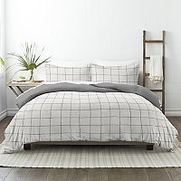 Made Supply Co. Plaid Reversible Comforter Set w/Shams Deals