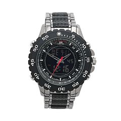 u s polo assn watches kohl s u s polo assn men s analog digital chronograph watch us8170
