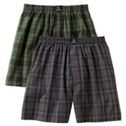 Jockey 2-pk. Plaid Boxers