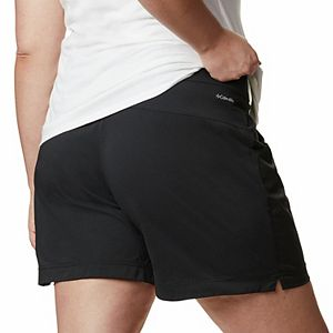 Plus Size Columbia Anytime Casual UPF 50 Shorts
