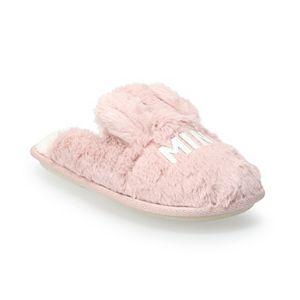 Kids' LC Lauren Conrad Mini Llama Scuff Slippers