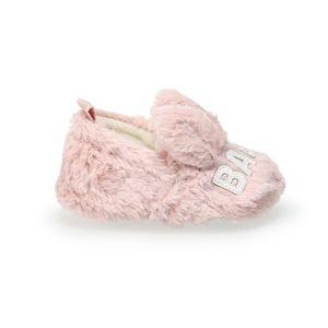 Baby LC Lauren Conrad Baby Llama Closed Back Slippers