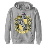 Boys 8-20 Harry Potter Hufflepuff House Crest Graphic Fleece Hoodie