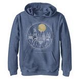 Boys 8-20 Harry Potter Hogwarts Line Art Portrait Graphic Fleece Hoodie