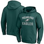 Men's Fanatics Branded Midnight Green Philadelphia Eagles Victory Arch Team Pullover Hoodie