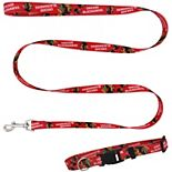 Little Earth Chicago Blackhawks Collar and Leash Set