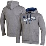Men's Champion® Heathered Gray Penn State Nittany Lions Field Day Fleece Pullover Hoodie