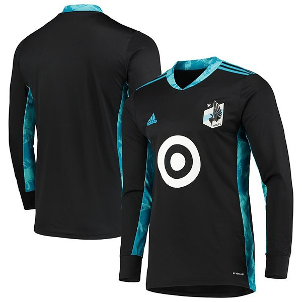 Men's adidas Black Minnesota United FC Replica Goalkeeper Jersey
