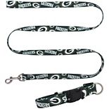 Little Earth Green Bay Packers Collar and Leash Set