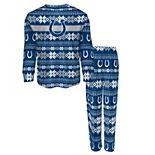 Preschool Royal Indianapolis Colts Holiday Pajama Set