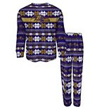 Preschool Purple Baltimore Ravens Holiday Pajama Set