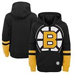 Youth Black Boston Bruins Special Edition Big Logo Pullover Hoodie