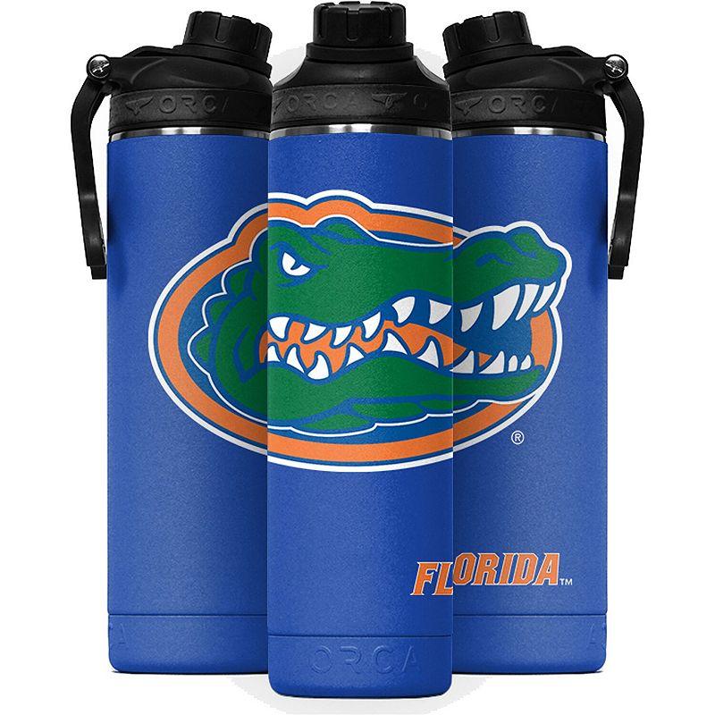 ORCA Florida Gators 22oz. Large Logo Hydra Water Bottle. Multicolor