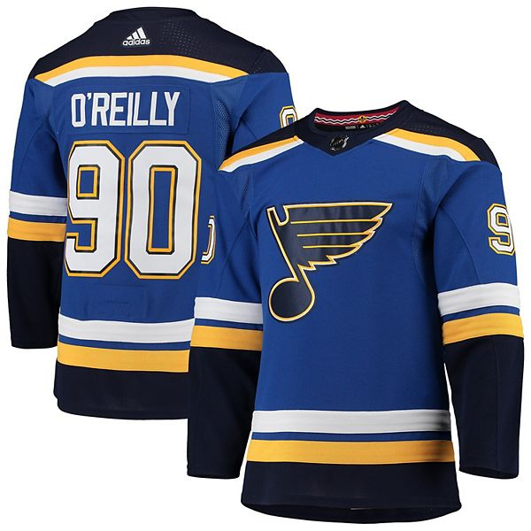 Men's adidas Ryan O'Reilly Blue St. Louis Blues Home Authentic Player Jersey