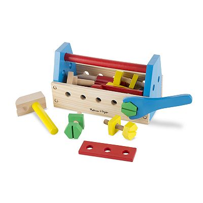 Melissa & Doug Toys: Take-Along Tool Kit $6.39