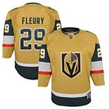 Youth Marc-Andre Fleury Gold Vegas Golden Knights 2020/21 Alternate Premier Player Jersey
