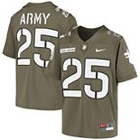 Youth Nike #25 Olive Army Black Knights Rivalry Untouchable Football Jersey
