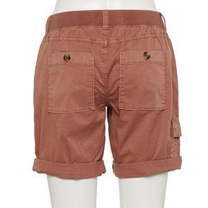 Women's Sonoma Goods For Life® Ultra Comfort Waist Utility Bermuda Shorts