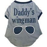 Woof Daddys Wingman Pet Tee