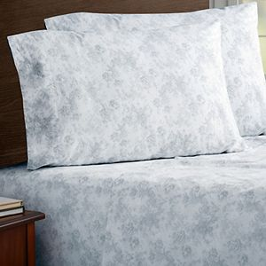 Soft Wash Vintage Cotton Percale Sheet Set with Pillowcases