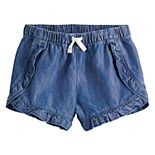 Girls 4-12 Jumping Beans® Ruffled Shorts