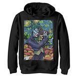 Boys 8-20 DC Comics The Joker Starry Night Style Portrait Graphic Fleece Hoodie