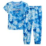 Toddler Jammies For Your Families® Tie-Dye Pajama Set