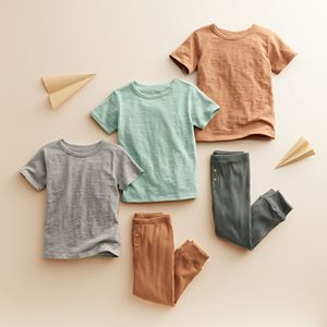 Baby & Toddler Little Co. by Lauren Conrad 3 Pack Slubbed Organic Tees