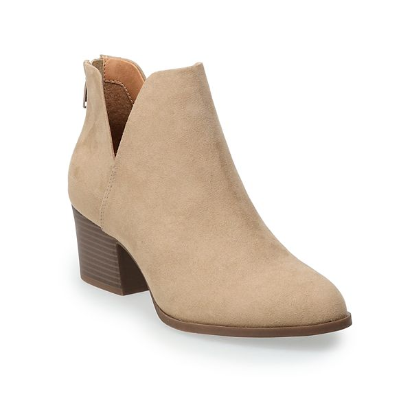 SO®: Barb 2 Women's Ankle Boots! .74 (REG .99) with code TAKE15NOW at Kohl's!
