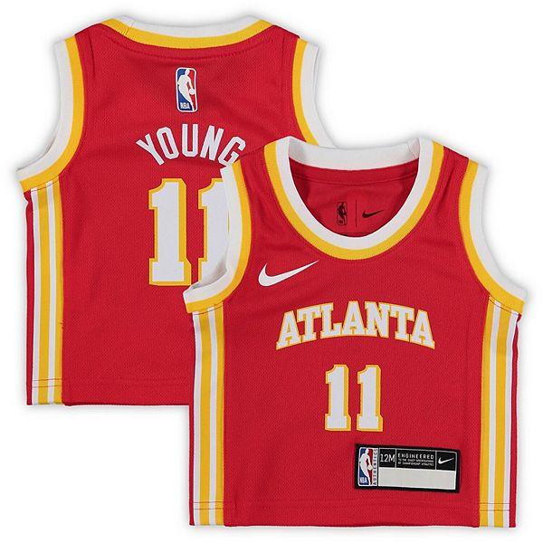 Atlanta Hawks Trae Young White Swingman Jersey