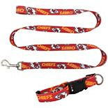 Little Earth Kansas City Chiefs Collar and Leash Set