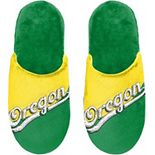 FOCO Oregon Ducks Color Block Big Logo Slippers