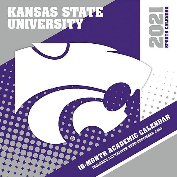Ksu Academic Calendar 2021 Kansas State Wildcats 2021 Wall Calendar