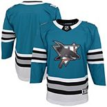 Youth Teal San Jose Sharks 30th Anniversary Premier Jersey